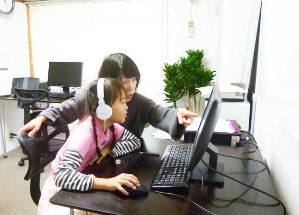 パソコン教室ふじせ フォトムービー作成中